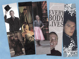 Ninth Doctor Bookmark Set - Free Download by WildeGeeks
