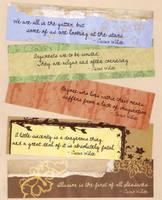 Wilde Bookmarks 02 by WildeGeeks