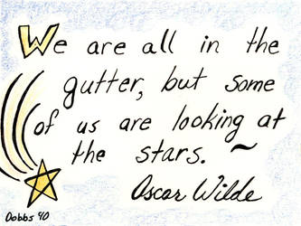 We Are all in the Gutter by WildeGeeks