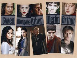 Merlin Bookmark Set by WildeGeeks