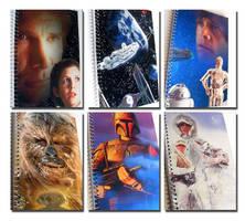 Star Wars Notebooks (multiple designs) by WildeGeeks