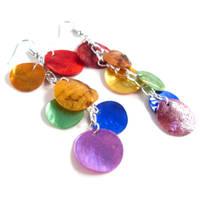 Love Wins Mythical Scale Earrings by WildeGeeks