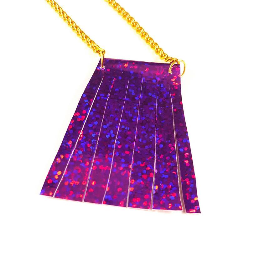 Mermaid Tail Necklace by WildeGeeks