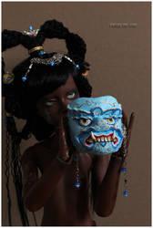 Demon Guardian Mask II by Follow-the-Wind