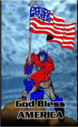 Optimus Prime: REAL AMERICAN by prfctcellrulz