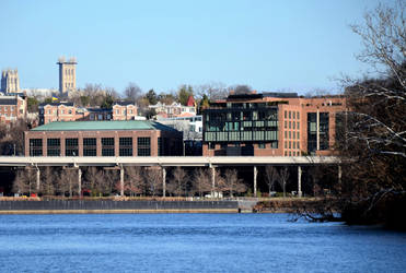 Georgetown from Across the River 12-30-16 by jules-101
