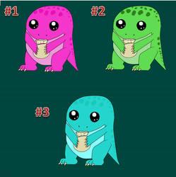 Quaggan Candy Adoptables and Raffle by GwenRoyal