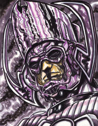 Galactus Destroyer of Worlds by KwongBee-Arts