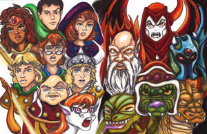 The Dungeons and Dragons Mural by KwongBee-Arts