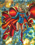 Supergirl Raphaela Sky by KwongBee-Arts