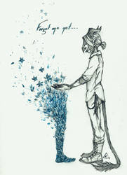 Forget Me Not... by Werevenantwolf