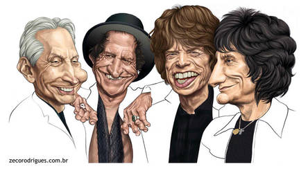 The Rolling Stones by zecorodrigues