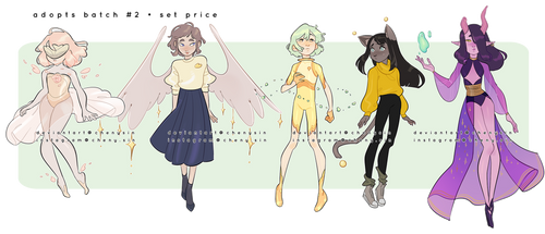 CLOSED   'Magical n ethereal' - Adopts batch #2 by chenysin
