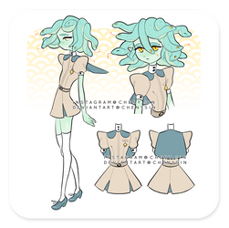 Set price - CLOSED   'Smol medusa' #2 by chenysin