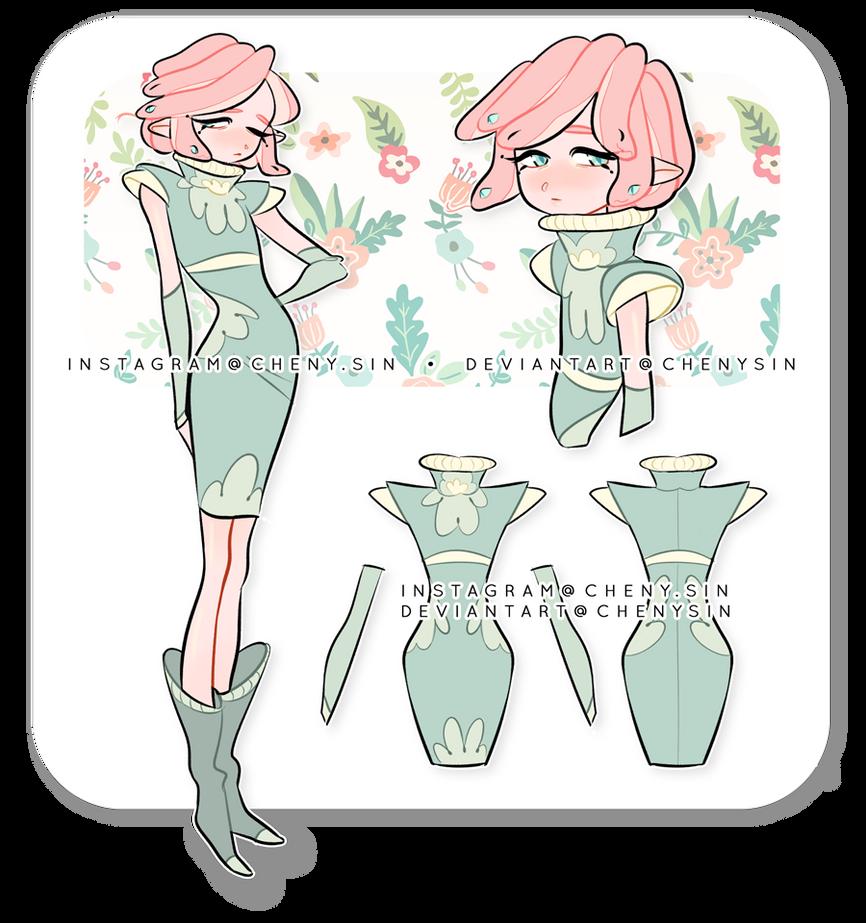 Set price - CLOSED   'Smol medusa' #5 by chenysin