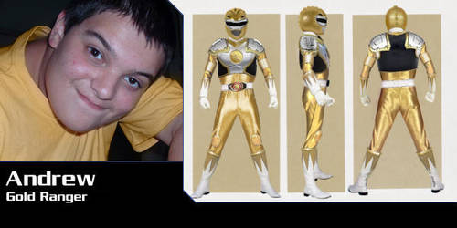 Gold Ranger - Mighty Morphin' by Andruril93