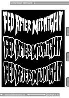 Fed After Midnight - LOGO_06 by Kaudallator