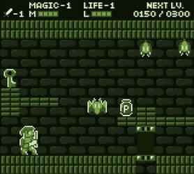 Zelda 2 Gameboy mockup by Traslogan