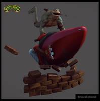 Battletoad by CronoZer0