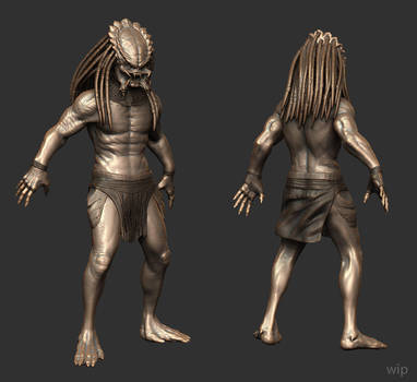 predator (work in progress) by CronoZer0