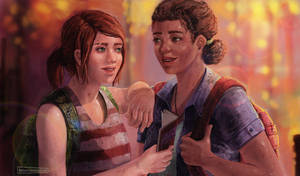 Left behind Ellie and Riley by Balisson