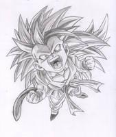 Goku SSJ 3 GT by kingvegito