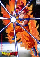 Goku Ssj G by kingvegito