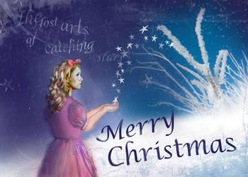 CHRISTMAS CARD by XeyeronikX