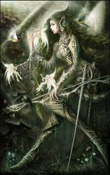 Angel Warrior by XXcomicXX