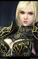 'Woman warrior face' by XXcomicXX