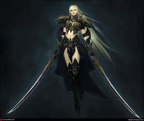 Woman warrior 3 by XXcomicXX