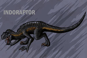 Indoraptor by RGreywind