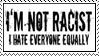 I'm not racist by Mistress-Cara