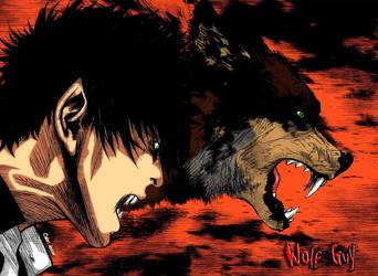 Akira-Wolf Guy by douser