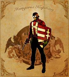 Captain Hungary, color sketch by tikos