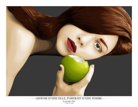 Portrait d'une femme by HYP3R--CH1CK