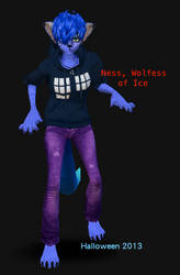 Ness of Ice by SpellboundFox