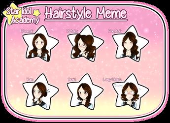 [SIA] Hairstyle Meme - Kazue by SparkleChord