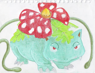 Bostvic Venusaur by Ashligh