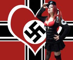 Nazi Girl by CherrySteam
