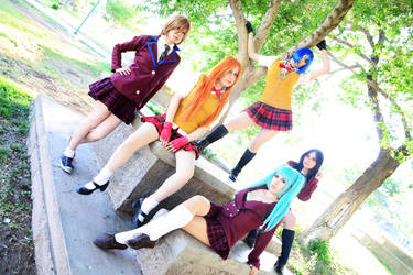 Sonsaku Cosplay by CherrySteam