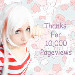 Thanks for 10,000 Pageviews by CherrySteam