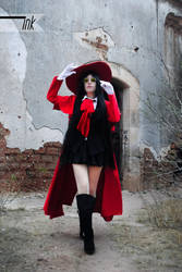 Alucard Female Cosplay by CherrySteam
