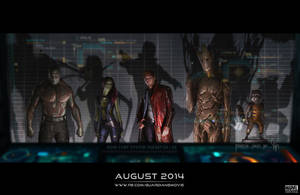 Guardians of the Galaxy by super-gamer