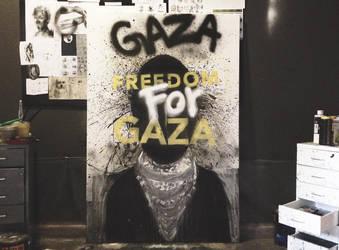 freedom for GAZA by farisosaimi