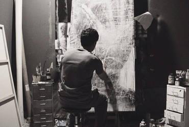 painting  25.8.2014 by farisosaimi