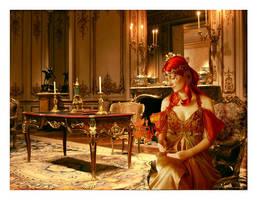 The Princess Awaits by sweetcivic