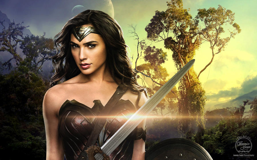 Wonder Woman Fan Art by sweetcivic