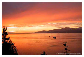 Sunset in Vancouver by sweetcivic