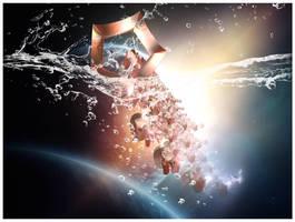 The Cosmic Splash by blingblingbabe